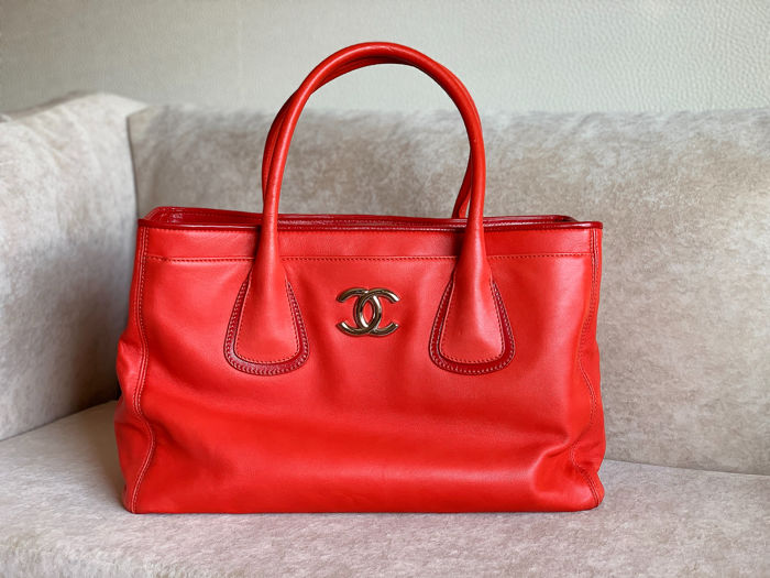 7537a70d4dacbb Chanel - Executive Cerf Tote bag - Catawiki