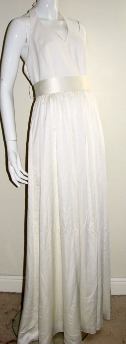 Vera Wang White Robe Taille Ue 38 It 42 Es Fr 38 De Nl 36 Us 6 Uk 10 Eu 38 Catawiki