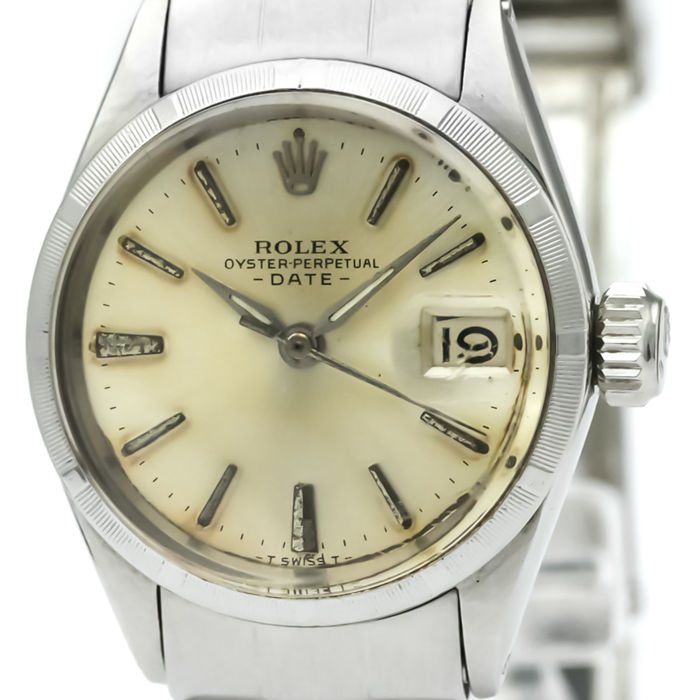 Rolex - Oyster Perpetual Date - 6519 - Mujer - .