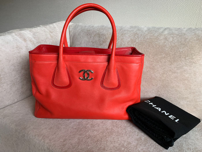 4d25b6f5528581 Chanel - Executive Cerf Tote bag - Catawiki