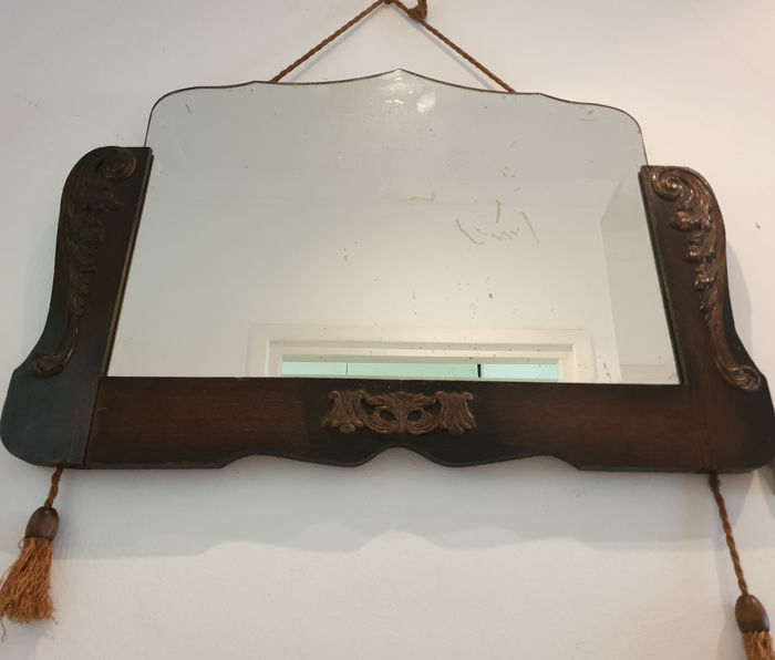 English furniture maker - Mirror maker manufactory - Mirror (1) - Baroque - Wood