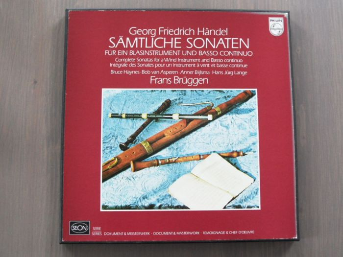 Great  baroque music albums - 2xLP Album (double album), Box set, LP's - 1974/2012