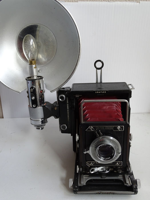 Graflex pre anniversaire graflex 56x76 speed graphic