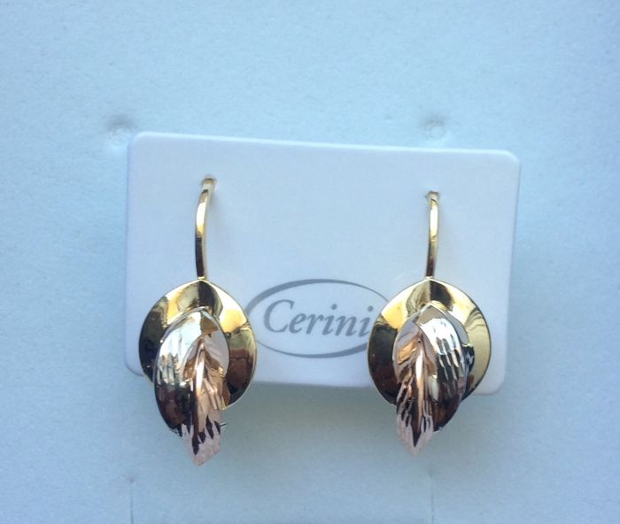 Cerini  - 18 kt. Pink gold, White gold, Yellow gold - Earrings