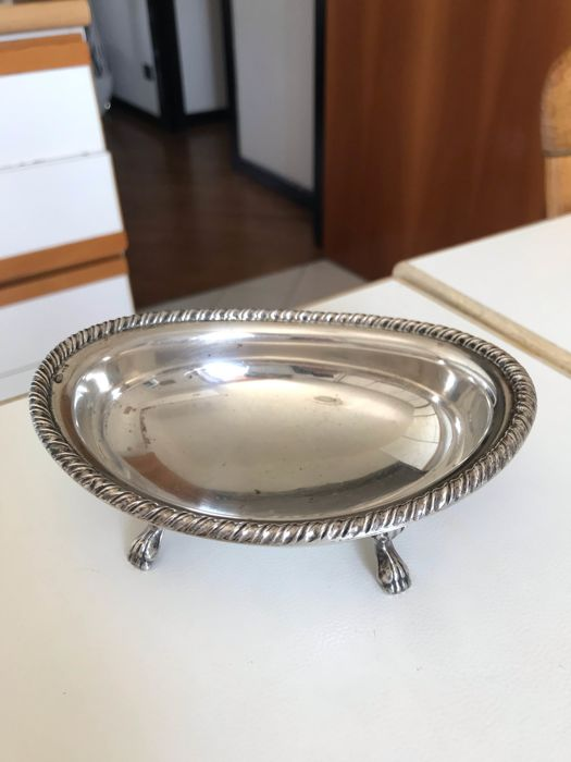 Bowl - .800 silver - Italy - Late 20th century