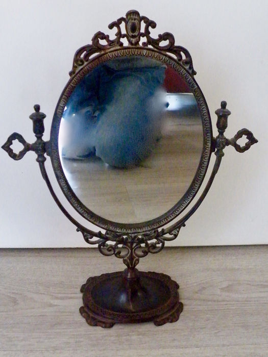 Beautiful Antique Mirror from England - Brass