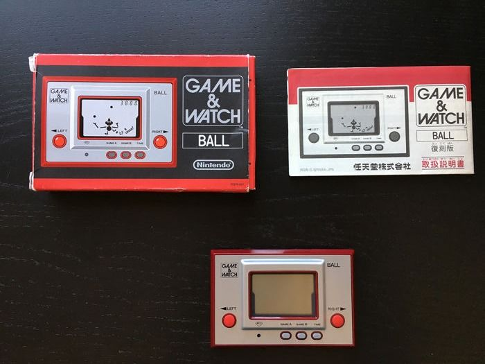 1 Nintendo Game & Watch Ball - Club Nintendo Edition - Video games - In original box
