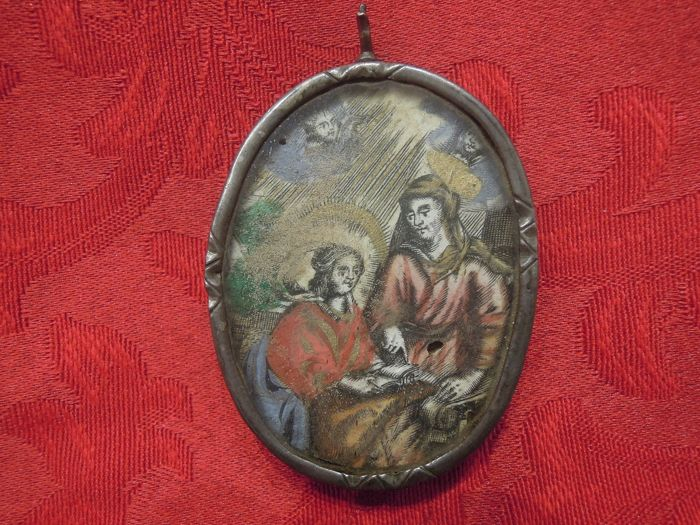 medallion - Silver - Early 19th century