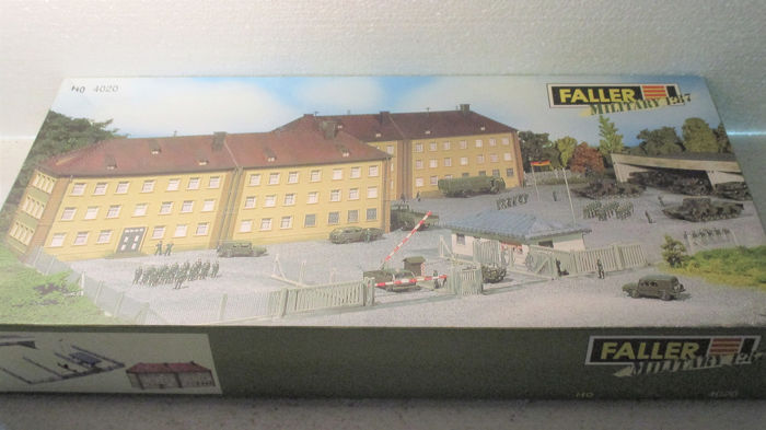Faller H0 - 4020 - Attachments - Military base, kit 1