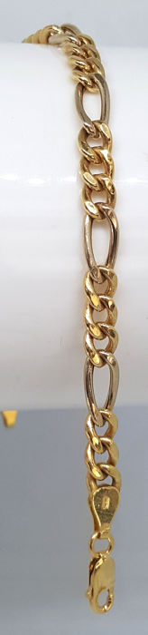18 kt. White gold, Yellow gold - Bracelet