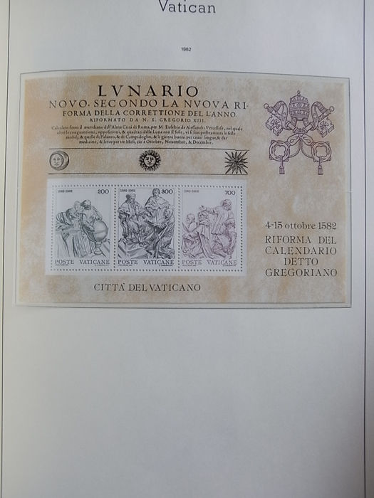 Calendario 1946.Vatican City 1946 1984 Large Collection Of Vatican City In