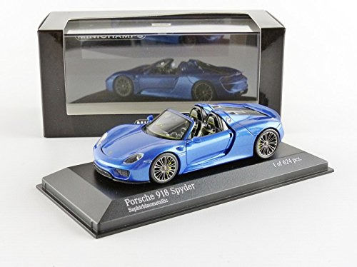 MiniChamps - 1:43 - Porsche 918 Spyder 2013  - Limited Edition of 624 pcs.