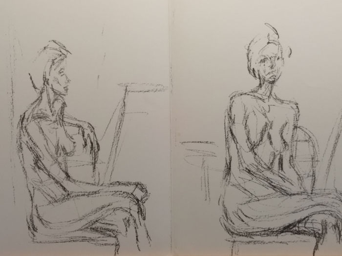 Giacometti - Double DLM page