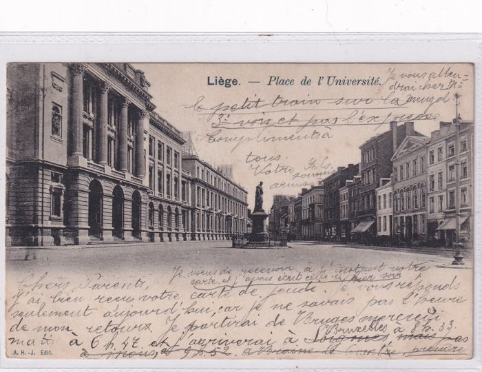 Belgium Liège and Huy (Collection of 91) - 1900-1940