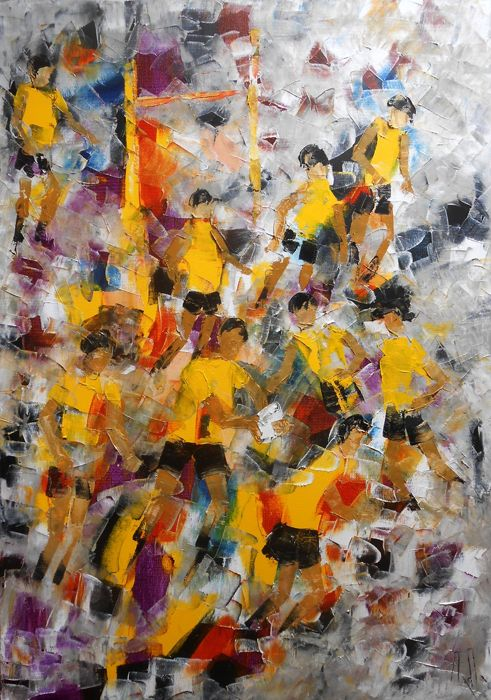 Axelle Bosler - Tableau Rugby