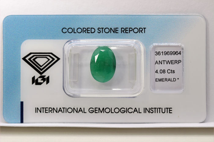 No Reserve Price - Emerald - 4.08 ct
