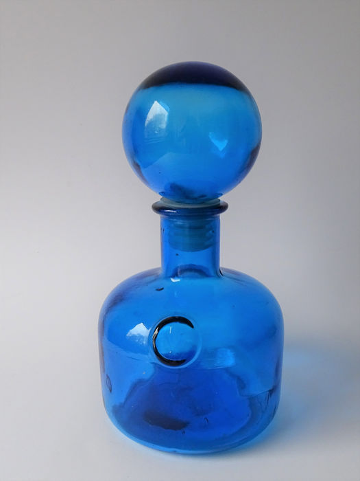 Empoli - Carafe - Vintage - Rare in this color - Glass
