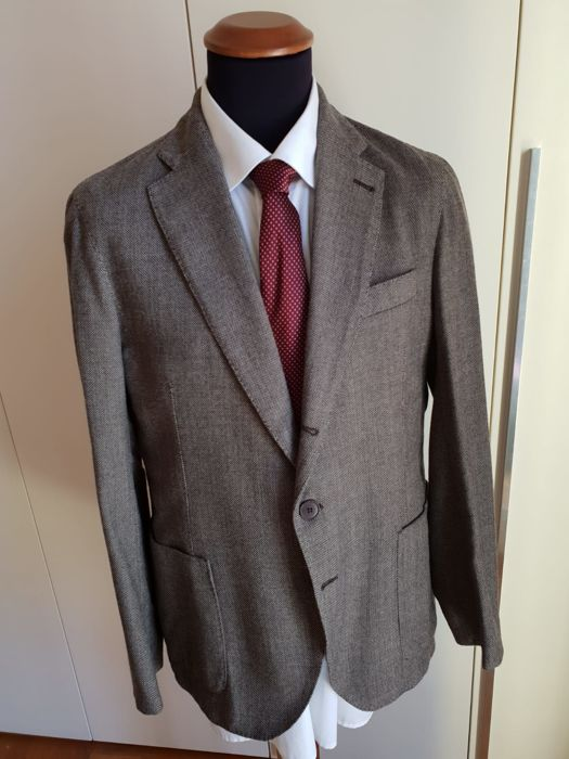 Armani Collezioni - Blazer - Size: EU 52 (IT 56 - ES/FR 52 - DE/NL 50), EU 54 (IT 58 - ES/FR 54 - DE/NL 52)
