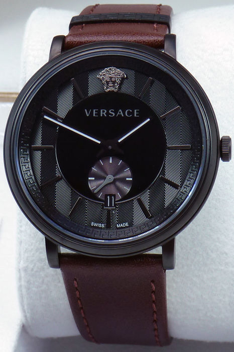 Versace - V CIRCLE Leder Mens - VEBQ004 19 - Men - 2011-present