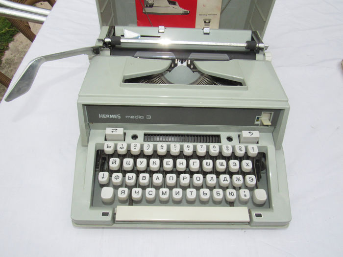 hermes media 3 - Typewriter
