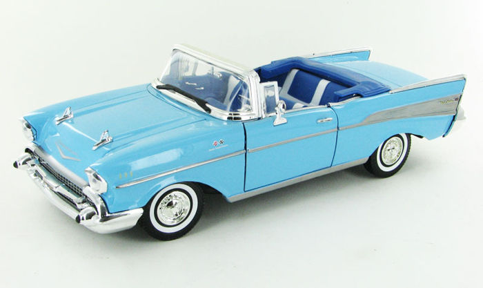Motormax - 1:18 - Chevrolet Bel Air 1957 - Premium Die-Cast Collection