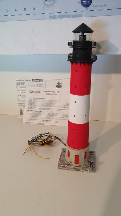 "Faller H0 - 131010 - Scenery - Lighthouse ""Hörnum"" with engine and lighting"