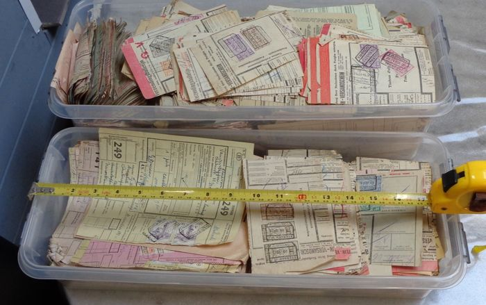 België - Very large lot of more than 4 kg of railway documents - OBP / COB