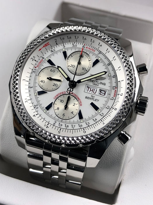 Breitling - Bentley GT Chronograph Automatic Special Edition - A13362 - Heren - 2000-2010