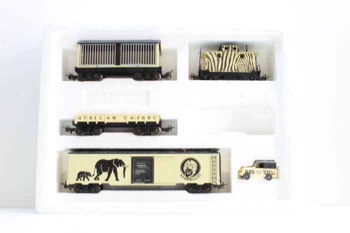"""Märklin H0 - 84773 - Freight carriage - Exclusive edition with certificate wagon set """"Africa"""""""