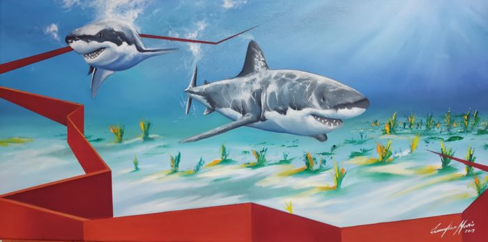 Mario Scannapieco - Two Shark Red feel