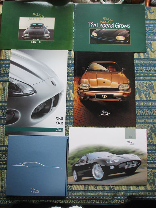 Brochuras / Catálogos - Jaguar - Coupes (KJS/XE/Lightweight) - 1984-2004