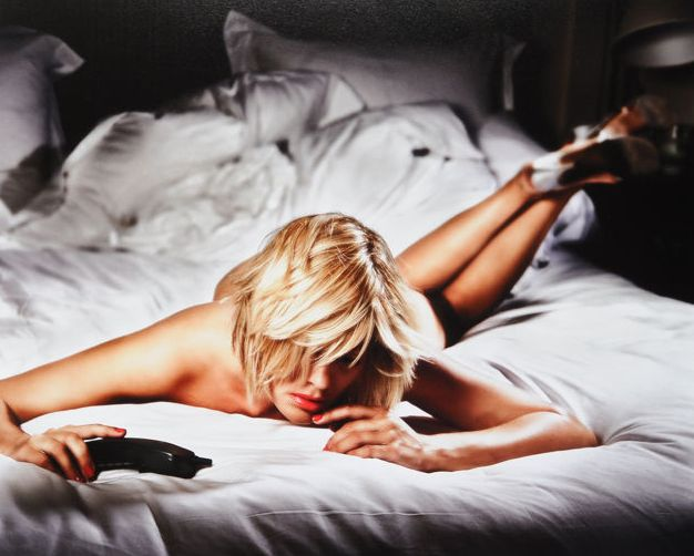 David Drebin (1970-) - The Morning After teNeues Collector's Edition + Waiting for the Call, signed C-Print, 2009, no 13/50