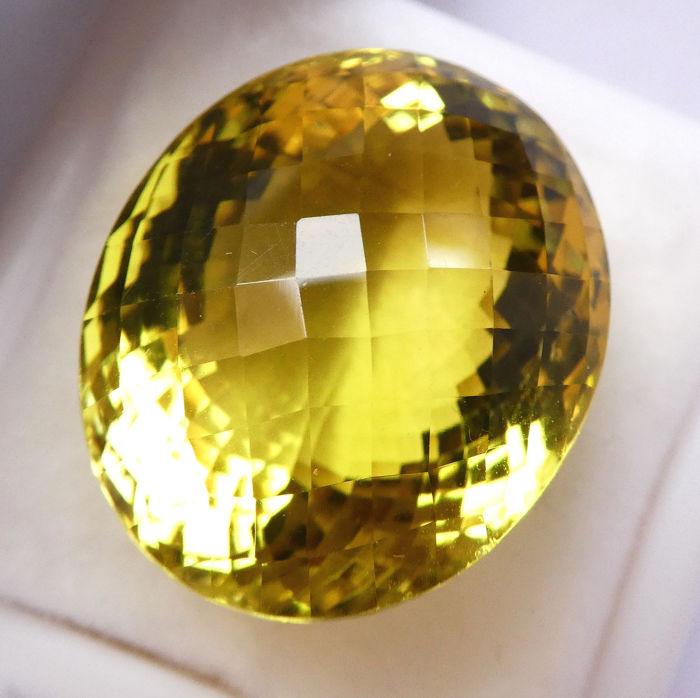 Lemon Quartz - No Reserve Price - 58.33 ct