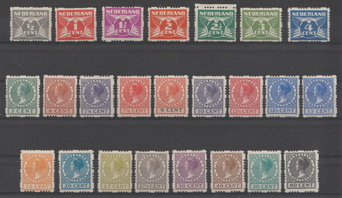 Holanda 1928 - Four-sided syncopation - NVPH R33/R56