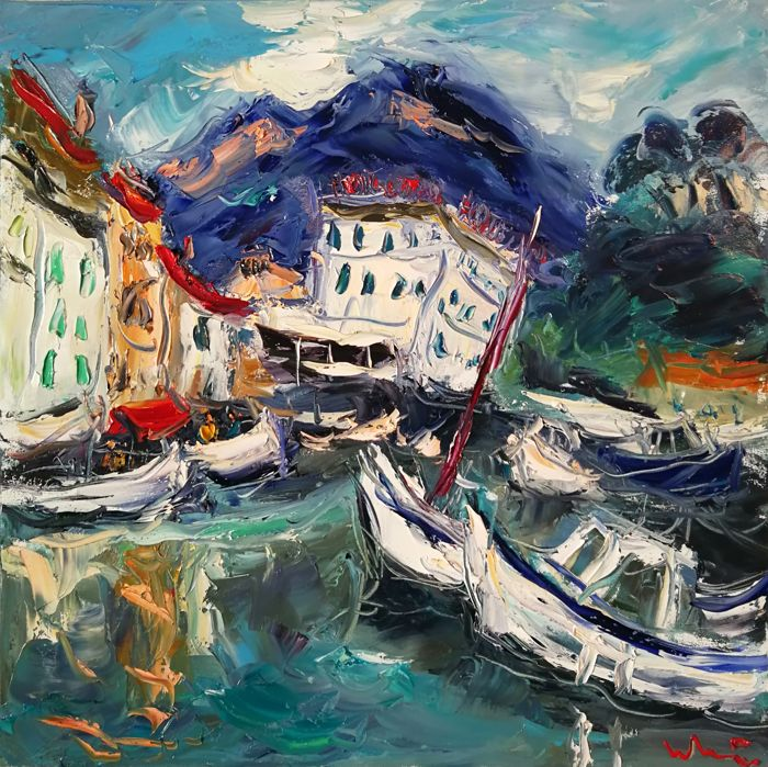 Ludovic Labbe - Cassis le port