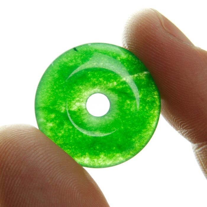 Serpentine group Lucky mineral of Infinity - 3.5×22×22 mm - 3.5 g
