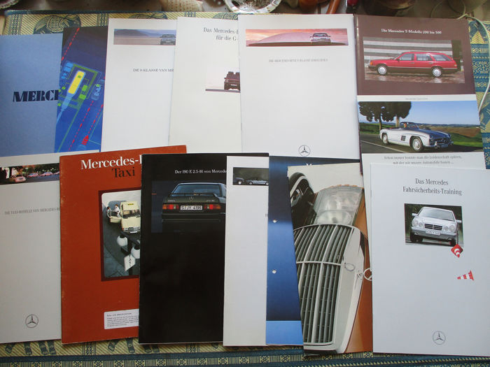 Brochures / catalogues - Mercedes-Benz - 1976-1996