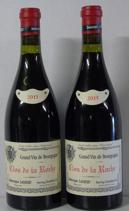 2013 Clos de la Roche Grand Cru - Dominique Laurent Grand Cru - 2 Flessen (0.75 liter)