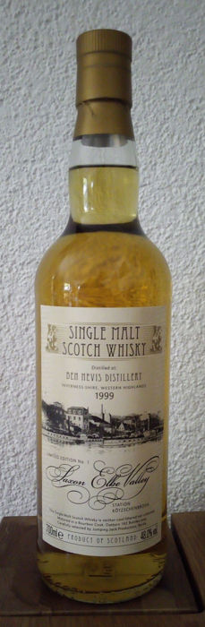 Ben Nevis 1999 19 years old Saxon Elbe Valley no. 1 - Jack Wiebers - 0,7 l