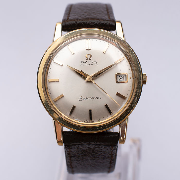 """Omega - Seamaster Automatic - """"NO RESERVE PRICE""""  - 14700SC gold capped - Uomo - 1950-1959"""
