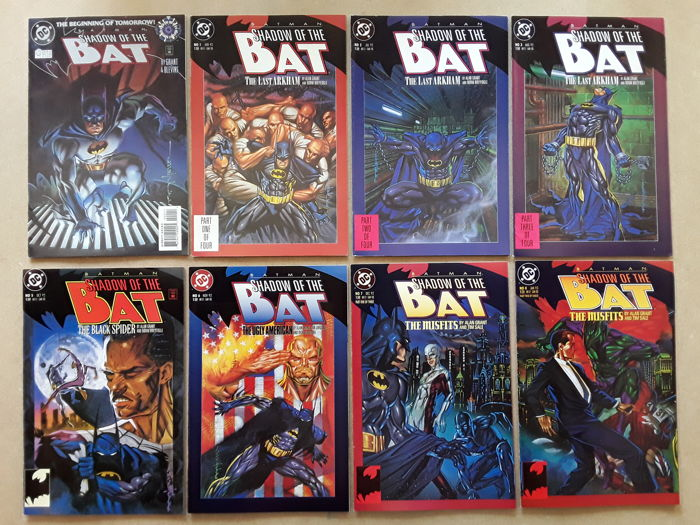 Batman Shadow of the Bat - X 93-The Joker, Scarecrow, Harley Quinn, Catwoman, The Huntress, Poison Ivy, Two-Face, Mr. Freeze  - Softcover - First edition - (1992/2000)
