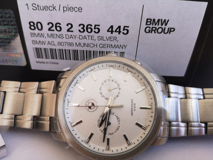 BMW - New-Day/Date Silver Edition - Men - 2008