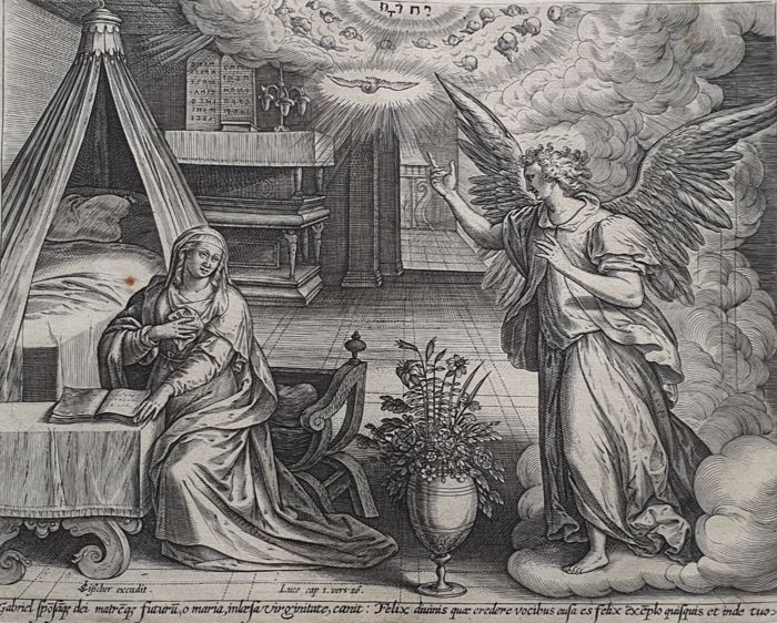 Gerard de Jode (1509–1591)  - Story from The Childhood of Christ