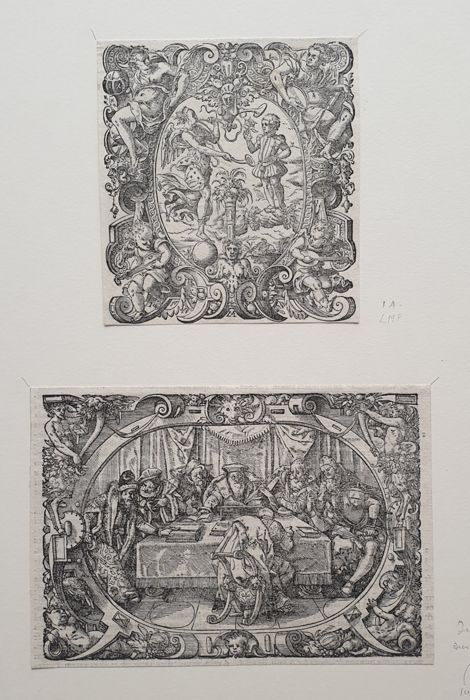 2 prints by Jost Amman (1539-1591) - Collection prints