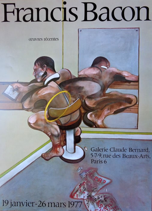 Francis Bacon - Oeuvres récentes, Galerie Claude Bernard - 1977