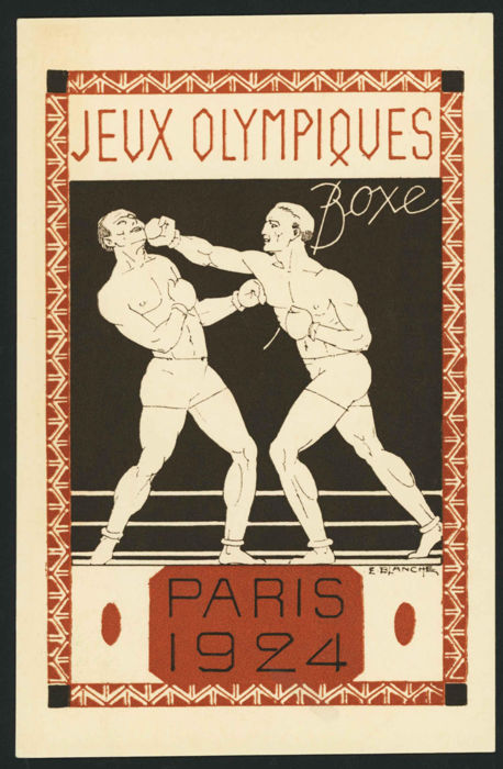 França 1924 - Paris Olympics 1924 - 8 postal stationery with different subjects - Yvert 171-CP1