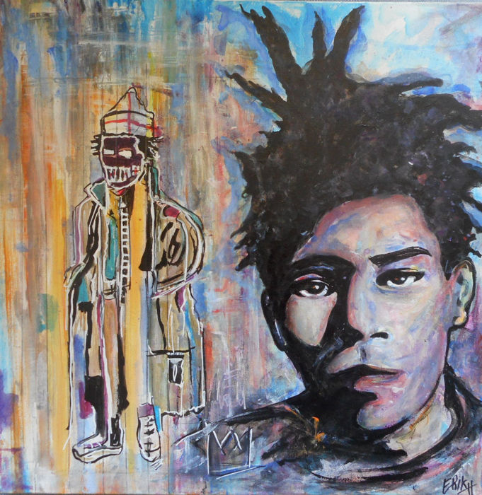 Erik-H - A taxi for Jean-Michel Basquiat