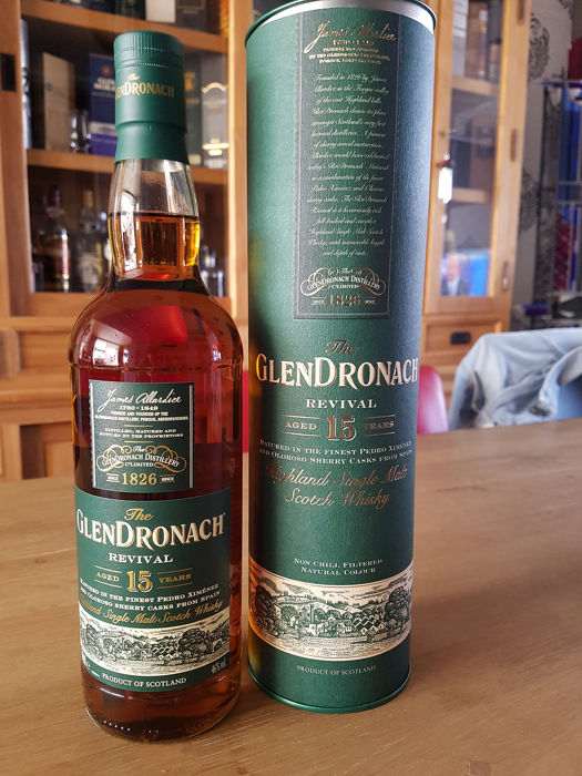 Glendronach 15 years old Revival - b. 2018 - 0,7 l