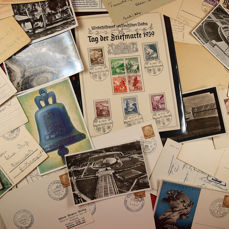 Duitse Rijk - High-quality lot Third Reich, WHW, Olympiad 36, propaganda and more.