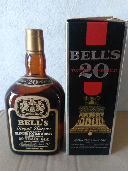 Bell's 20 years old Royal Reserve - b. 1970er Jahre - 26 oz
